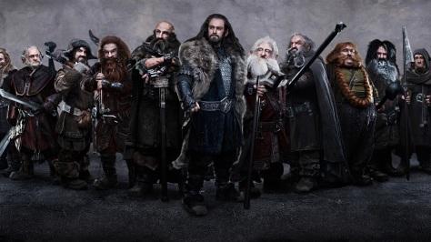 Los enanos de El Hobbit