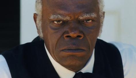Samuel L Jackson haciendo de negrero. Lo mejor de Django desencadenado