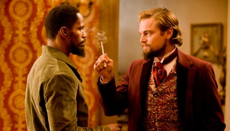 Dicaprio y Jamie Foxx en Django desencadenado