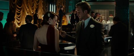 Ryan Gosling y Emma Stone en Gangster Squad