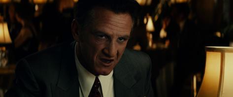 Sean Penn es Micjey Cohen en Gangster Squad
