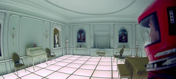2001 habitación blanca