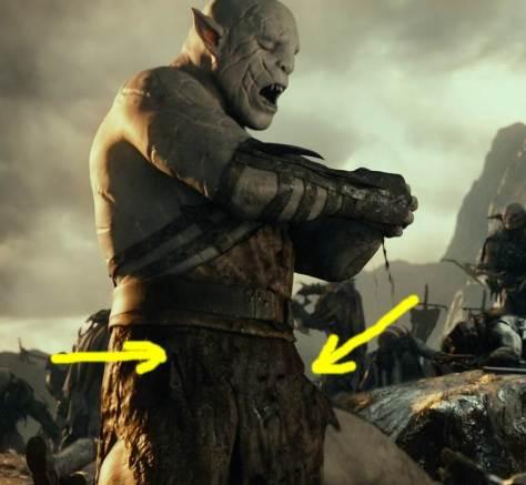 caras de belmez en el hobbit 3