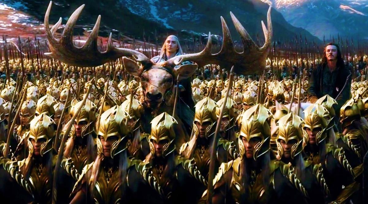 El hobbit: La batalla de los cinco ejércitos. Tensión sexual no resuelta